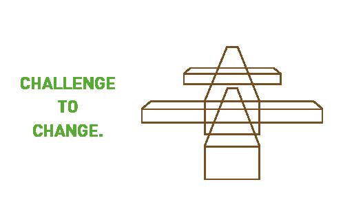 Challenge to change. 木材加工図